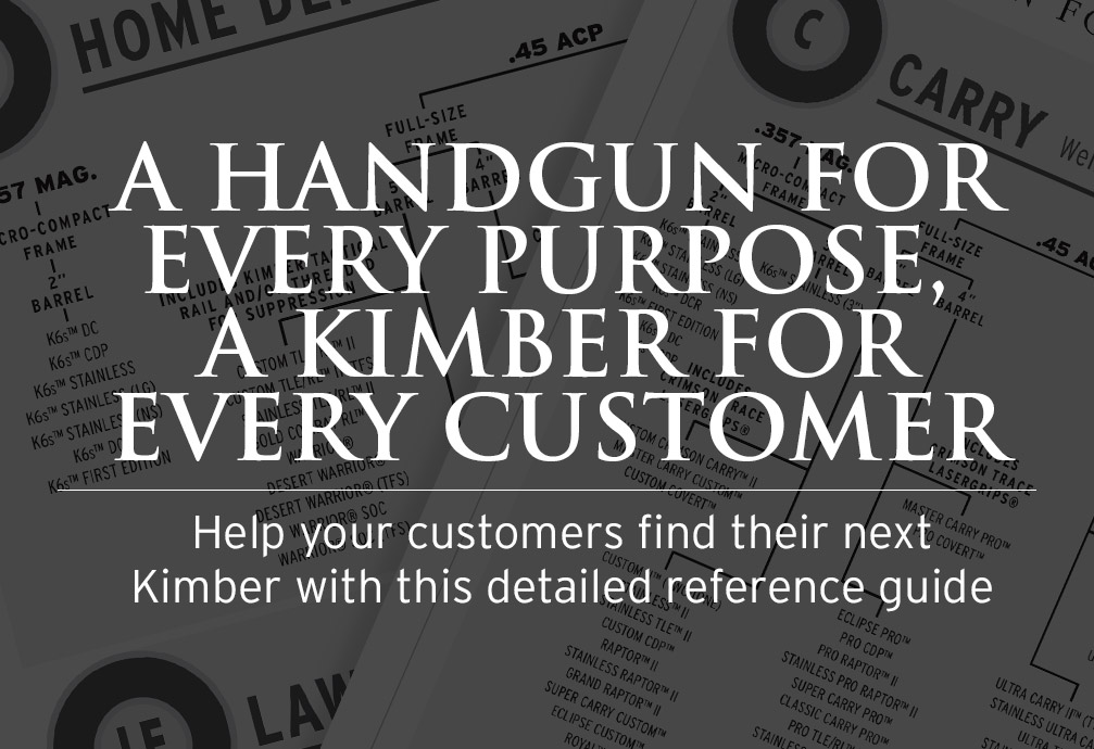 A Handgun for Every Purpose, A Kimber for Every Customer